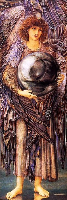 The Days of Creation: The First Day by Edward Burne-Jones