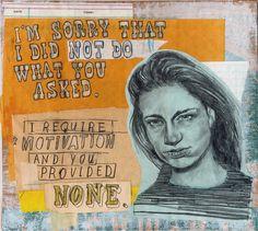 """I can't apologize enough"" by David Fullarton"