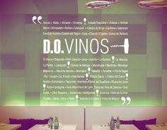 #Vinilo #Adhesivo con las denominaciones de vino de nuestro país. En #España, el origen legal de las denominaciones de origen hay que buscarlo en el Estatuto del vino del año 1932 y en la posterior Ley 25/1970, del Estatuto de la Viña, del vino y los alcoholes.