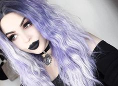 Whats your favourite hair colour? summoning the sun in our Soleil Velvet Choker and a lavender purple wig from 💜 ✨ 🔮 Pastel Goth Hair, Pastel Goth Makeup, Pastel Goth Fashion, Pastel Goth Style, Lavender Hair, Lilac Hair, Lavender Ideas, Goth Beauty, Hair Beauty