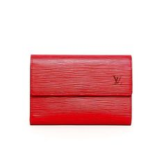 """Mandala_Authentic on Instagram: """"BEST DEAL! Preloved Excellent Louis Vuitton Wallet Epi Red 2004 (16 x 3 x 11 cm) with replacement dustbag  IDR 3.000.000"""""""