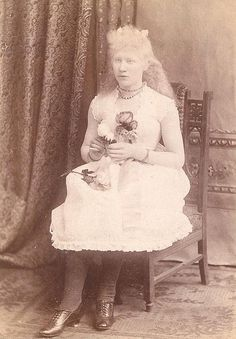 A girl of 19th century
