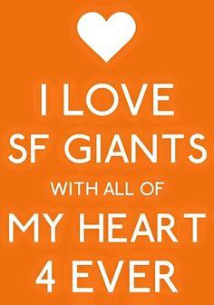 I ❤️ SF Giants