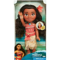 Disney Moana Adventure Doll 04543 Tall Jakks Doll and Flower Hair Clip NEW Moana Disney, Disney Parks, Flower Hair Clips, Flowers In Hair, Disney Princess Toddler, Princess Adventure, Adventure Outfit, Brand Story, Disney Dolls