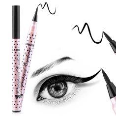 2016 Hot jual Hitam Eyeliner Pensil Makeup Tahan Air Kecantikan Mata Pena Eye Liner Pensil Cair Kosmetik Tahan Lama Alami