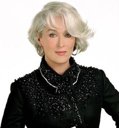 How to Go Natural With Gray Hair http://www.latest-hairstyles.com/color/natural-gray-hair.html
