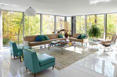 deko wohnzimmer silber moderne wohnzimmer stehlampe dekoration ... - Wohnzimmer Retro Stil