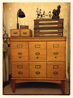 Nice Oak Filing Cabinet
