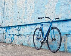More C'dale track pron.    Blue on Blue by cycleangelo, via Flickr
