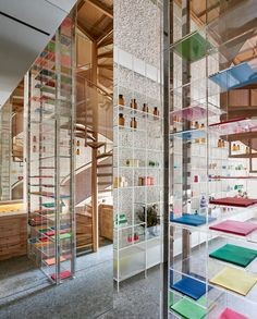 In contrast to the often unwelcoming, sterile composition of pharmacies, Molecure Pharmacy in Taichung, Taiwan, has been designed with a modern holistic concept in mind. Designed by local architecture practice Waterfrom Design, the store has become a h...