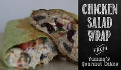 Grapes & Walnuts make this wrap juicy and crunchy!