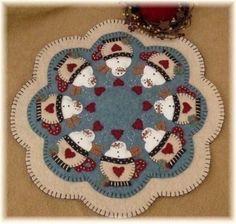 Vela mate Kit Kit de alfombra de Penny lana por oneoftheflock