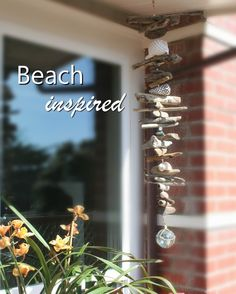Outdoor Ocean Mobile by beachstring on Etsy, $60.00  I fall in love with everything she makes!
