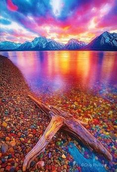 Jackson Lake in Grand Teton National Park