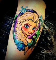 Frozen tattoo