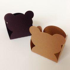 Forminhas para doces urso