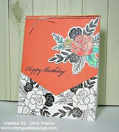 Hello Lovely CTMH | handmade birthday card | CAS cards | Close To My Heart | watercolor paints
