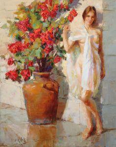 Eric Wallis ~ Impressionist Figurative painter