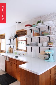 Before & After: A 1960s Kitchen Opens Up for Under $200