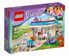 Lego Friends 41085, La Clínica Veterinaria.  Contiene 192 piezas, incluye una minifigura.