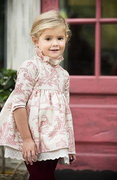 Inspiration for an Oliver + S Building Block dress Little Girl Outfits, Little Girl Fashion, Little Girl Dresses, Toddler Fashion, Toddler Outfits, Kids Fashion, Girls Dresses, Flower Girl Dresses, Kind Mode
