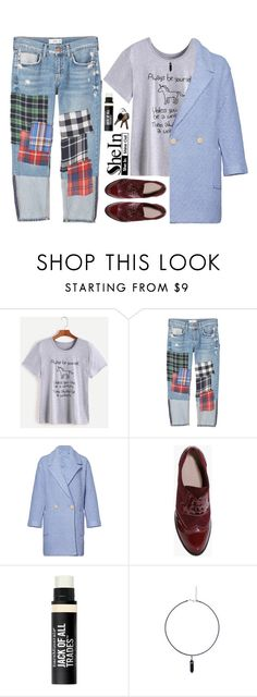 """""""Be Yourself"""" by stavrolga on Polyvore featuring MANGO, English Factory, Boohoo and Bare Escentuals"""