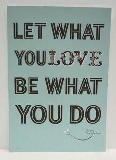 #Work #Company #Love #Job #Quote #Inspiration