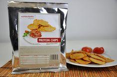 knuspriger Chipsgenuss mit rauchigem Barbecuearoma aber ganz ohne Sünde  – kein Problem mit den Proteinchips von Konzelmann's
