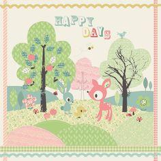 Affiche Déco Kitsch Kawai pour Enfant de Jillian Phillips