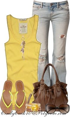 """Sunny Days"" by cindycook10 on Polyvore"