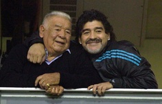 Maradona & his Dad
