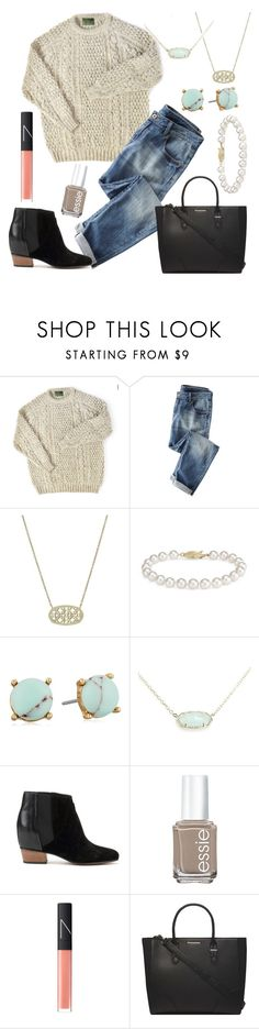 """Untitled #33"" by annie-carr3 ❤ liked on Polyvore featuring Wrap, Kendra Scott, Blue Nile, Carolee, Golden Goose, Essie, NARS Cosmetics and Dorothy Perkins"