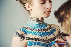 Actualité / Sexy Calligraphy / étapes: design  culture visuelle