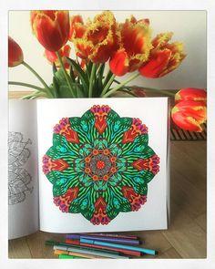 #mandala #mandalacoloringbook #colorfulflowers