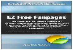 How to Setup Your Very Own Facebook Fanpage In 5 Minutes...Without Being A Computer Genius Or Fancy Programmer And Without Having To Spend A Single Penny On Hard-To-Use Software or Scripts.I won't waste your time.I know you want a simple, instant solution for setting up your very own Facebook Fanpages.  Whether its for personal use, niche marketing or offline clients --- I've got what you need!