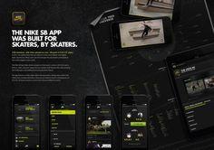 "Nike: ""THE NIKE SB APP [image]"" Case study  by R/GA, New York"