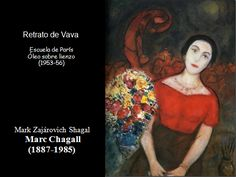 Portraits of Woman along the history of art 95 Marc Chagall, History, Portraits, Painting, Woman, Female Senior Portraits, Oil On Canvas, Canvases, Faces
