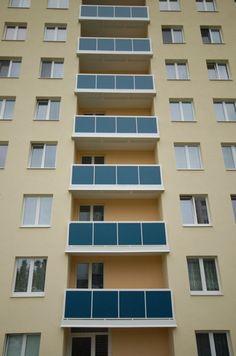 Stavba balkónov   alumistr.sk Multi Story Building, Balcony