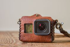 Vintage-inspired hand stitched leather case evolves next version designed to carry your GoPro® Hero 5. We make all of our products using hand selected premium top grain leather. Fits the new Hero 5 Bl