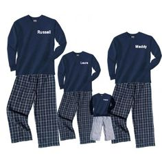 fd9f8f8062 personalized classic family outfits. I love this! Family Clothing Sets