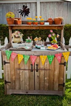Gardening birthday party!