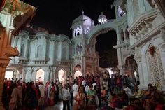 Every Picture Tells A Story In Beautiful Vrindavan During Kartik (Album with photos)  The Evening Programme in Iskcon's Krishna Balaram Mandir On The 5Th Of October. Find them here: