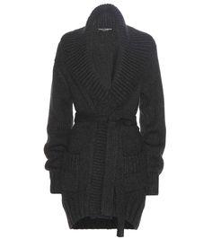 Dolce & Gabbana - Cardigan aus Cashmere - Edler Strick von Dolce & Gabbana: Dieser Cardigan aus wunderbar weichem Cashmere ist mit seinem Oversize-Kragen, dem Bindegürtel und den aufgesetzten Taschen eine wärmende wie unkomplizierte Wahl. Tragen Sie ihn zu allem, von Kleidern bis hin zu Looks aus Top und Hose. seen @ www.mytheresa.com