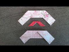 Tuto : une équerre facile pour des angles parfaits en scrapbooking - YouTube