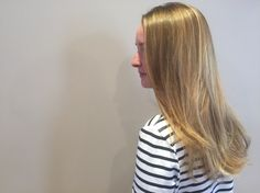 Balayage by Ashley, Haircut by Travis for the House of J. Henry