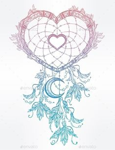 Wolves aHeart Shaped Dream Catcher With Moon Heart Shaped Dream Catcher With Moon.,art, catcher, crescent, decorative, design, dream, ethnic, fashion, feather, graphic, heart, hippie, illustration, indian, invitation, isolated, love, magic, moon, native, ornament, print, symbol, tattoo, tribal, valentine, valentines, valentines day, vector, vintage