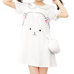 Kawaii Cartoon Printing Dress SP168406