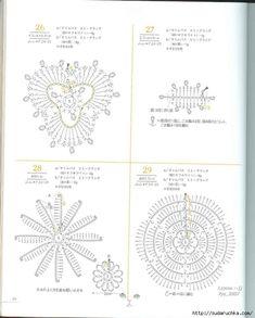 """""""Mini motif crochet pattern"""". Японский журнал по вязанию крючком. Обсуждение на LiveInternet - Российский Сервис Онлайн-Дневников"""