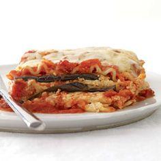 Eggplant Parmesan Lasagna.