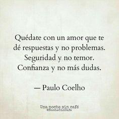 Quédate con un amor...